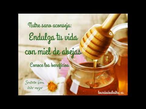 Beneficios de la miel sobre tu salud.